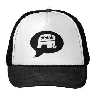 Elefante republicano gorros