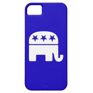 Elefante republicano iPhone 5 carcasas