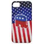 Elefante republicano iPhone 5 cobertura