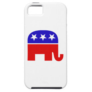 Elefante republicano iPhone 5 funda