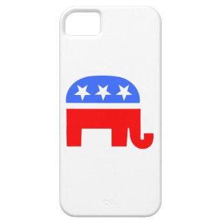 Elefante republicano iPhone 5 fundas