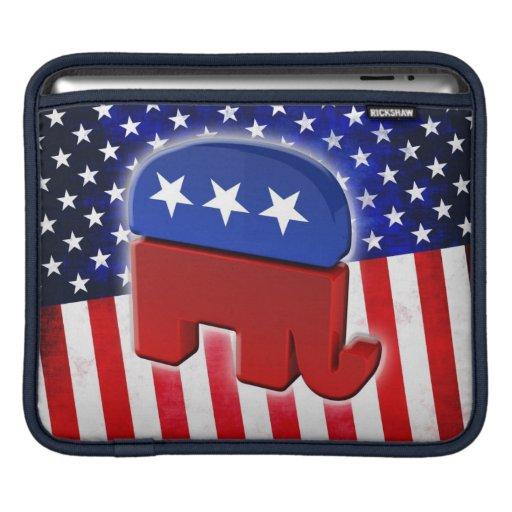 Elefante republicano mangas de iPad