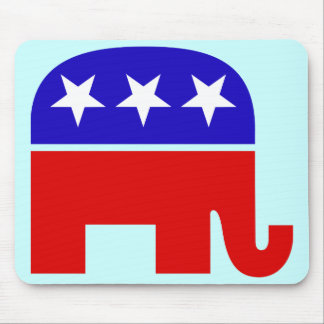 Elefante republicano Mousepad