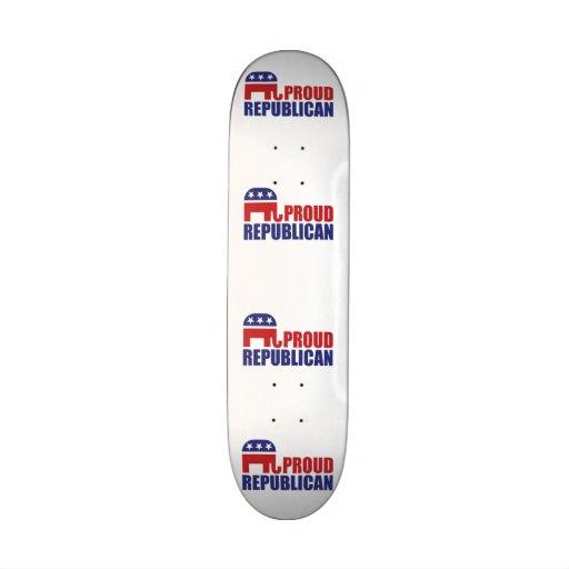 Elefante republicano orgulloso patin personalizado