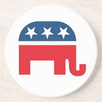 Elefante republicano posavasos cerveza