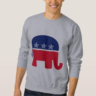 Elefante republicano sudadera
