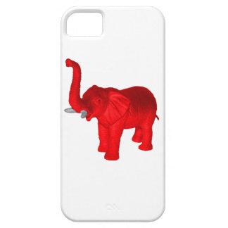 Elefante rojo iPhone 5 Case-Mate cobertura