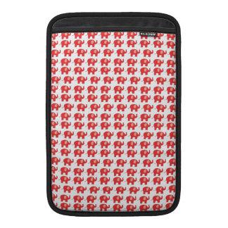 Elefante rojo funda  MacBook