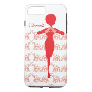 Elefante rojo funda iPhone 7 plus