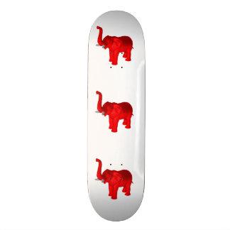 Elefante rojo patin personalizado