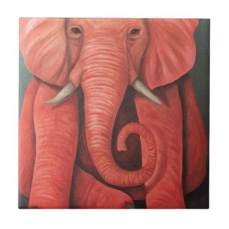 Elefante rosado azulejos ceramicos