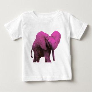 Elefante rosado Eyes.png azul Remeras