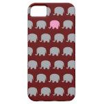 Elefante rosado iPhone 5 coberturas