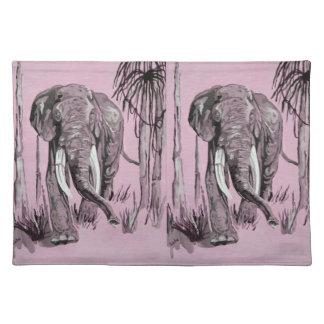 Elefante rosado manteles