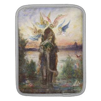 Elefante sagrado de Gustave Moreau Fundas Para iPads