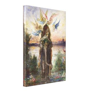 Elefante sagrado (Péri) por Gustave Moreau Lona Envuelta Para Galerias