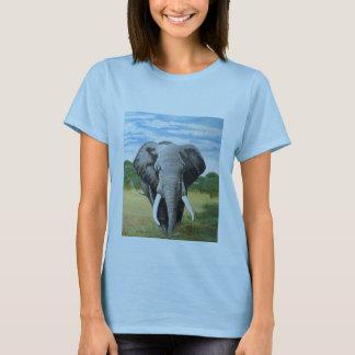 Elefante salvaje playera