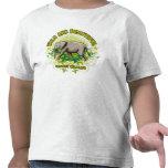 Elefante salvaje y hermoso camiseta