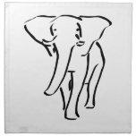 Elefante Servilletas
