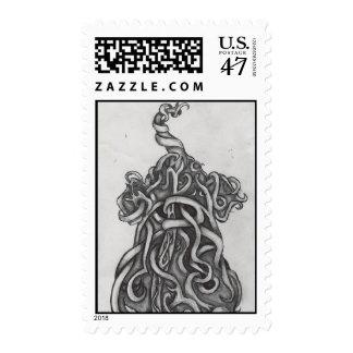 elefante surrealista del sello