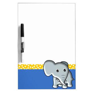 Elefante Tablero Blanco
