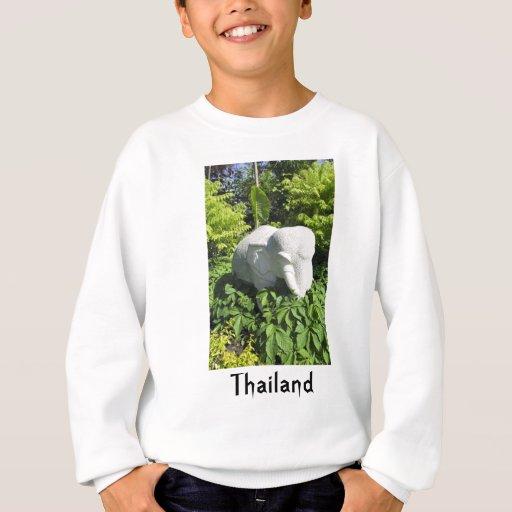 Elefante tailandés de piedra camisas