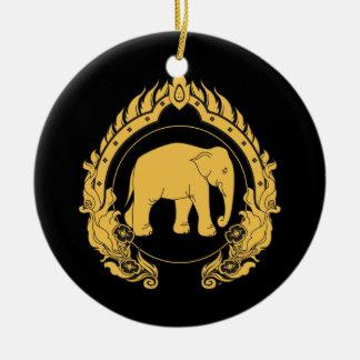 Elefante tailandés adorno para reyes
