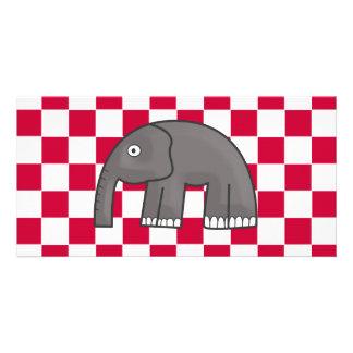 elefante tarjetas fotograficas personalizadas