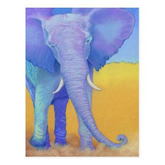 elefante tarjeta postal