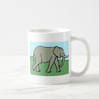 Elefante Taza Clásica