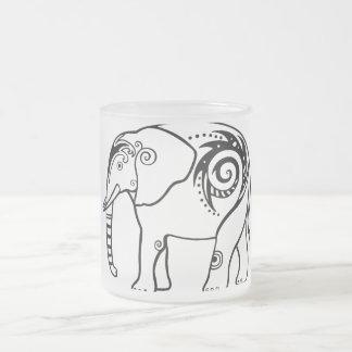 Elefante Taza De Cristal