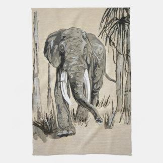 Elefante Toalla De Mano