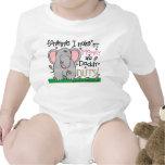 Elefante y cacahuetes lindos trajes de bebé