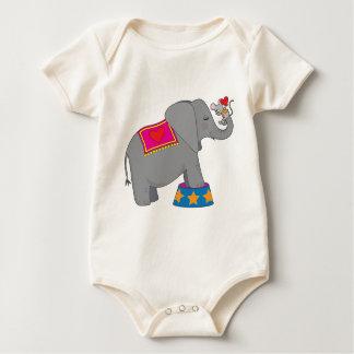 Elefante y ratón body para bebé