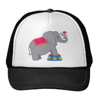 Elefante y ratón gorras de camionero