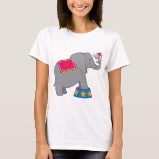 Elefante y ratón playera