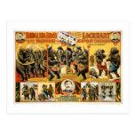 Elefantes 1899 del vintage de los Pachyderms de Postal