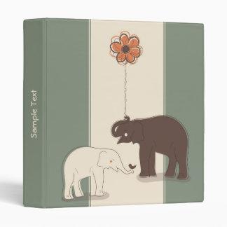 Elefantes 1 elegante carpeta