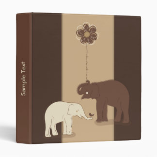 "Elefantes 1"" elegante carpeta"
