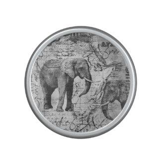 Elefantes africanos altavoz bluetooth