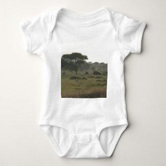 Elefantes Babygrow, colección africana del safari Playeras