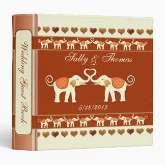 Elefantes blancos que casan Guestbook o la carpeta