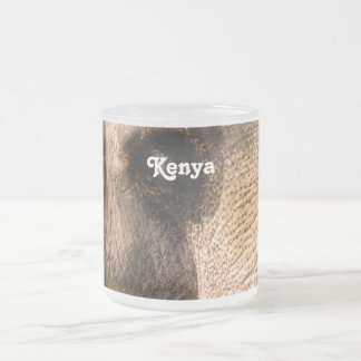 Elefantes del Kenyan Tazas De Café