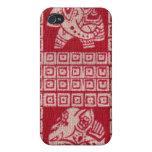 Elefantes enojados iPhone 4 carcasa