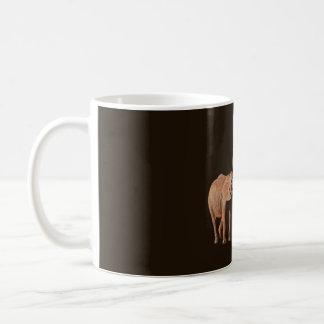 Elefantes - familia taza