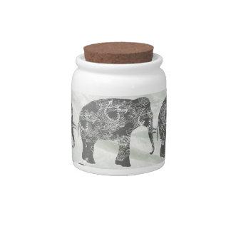 Elefantes Jarra Para Caramelo