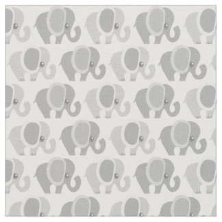 Elefantes hermosos del bebé telas