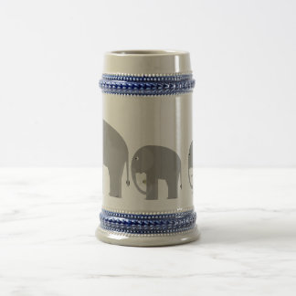 Elefantes Jarra De Cerveza