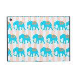Elefantes lindos de las azules turquesas del trull iPad mini cárcasa
