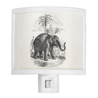 Elefantes personalizados del elefante asiático del luz de noche